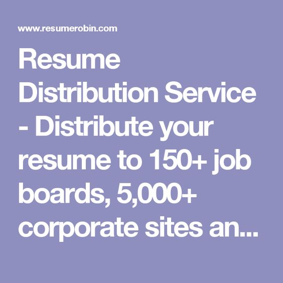 resume sites for recruiters