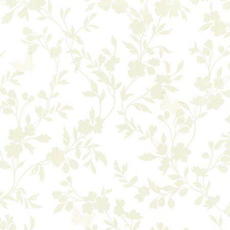 Home Improvement Green Floral Wallpaper Brewster Wallpaper