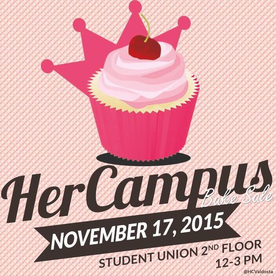 Social Media Flyer for Bake Sale Fundraiser Fall 2015 - bake sale flyer
