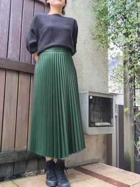 macchibo│ZARAのスカートコーディネート