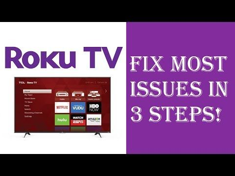 1 How To Fix Almost All Roku Tv Issues Problems In Just 3 Steps Roku Not Working Restart Update Youtube Roku Private Channels Roku Tv