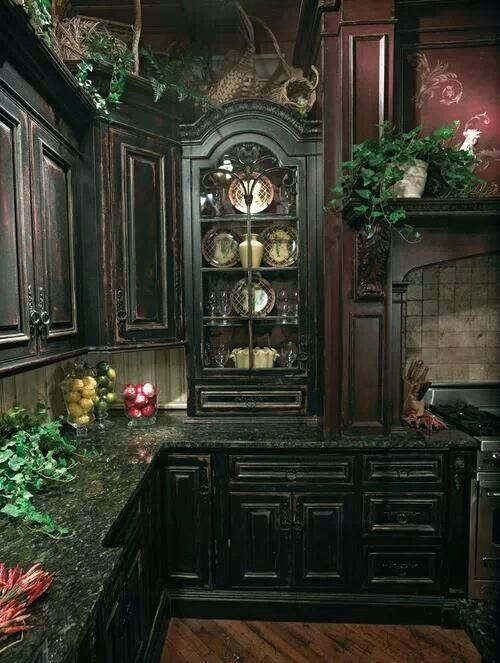 I don't even care what the rest of the house looks like, as long as I can have this kitchen ...: