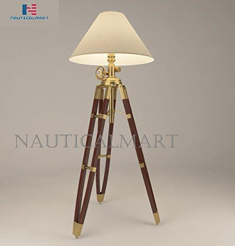 Nauticalmart Royal Marine Tripod Lamp With Materials Te Https Www Dp B07d78bp31 Ref Cm Sw R Pi Dp U X 3e Tripod Lamp Lamp Sunlight Floor Lamp