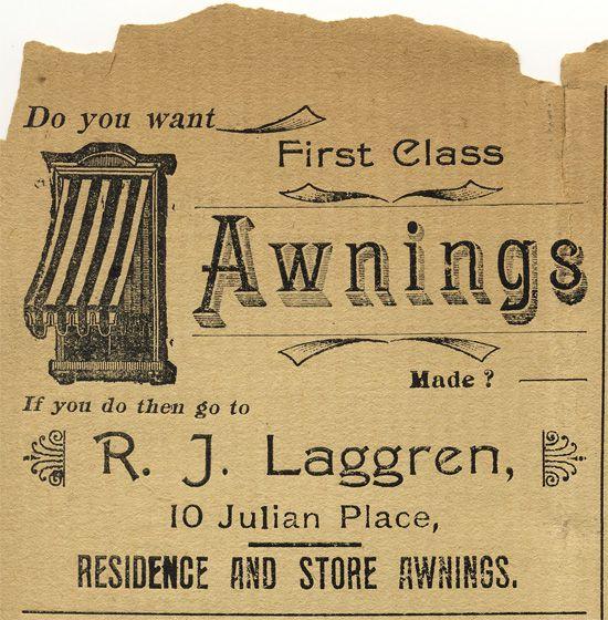 Awnings ad