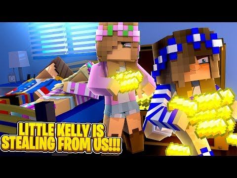 Little Kelly Videos Roblox Minecraft Little Kelly Is Stealing From Little Leah Donny Youtube Little Kelly How To Play Minecraft Minecraft
