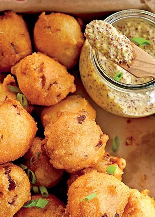 Pin By Sophia Jackson On Simple Food Easy Recipes Hush Puppies Recipe Recipes Appetizer Snacks