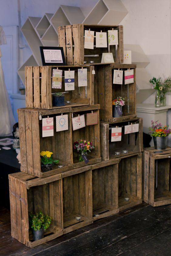 Pinterest le catalogue d 39 id es - Caisse en bois deco ...