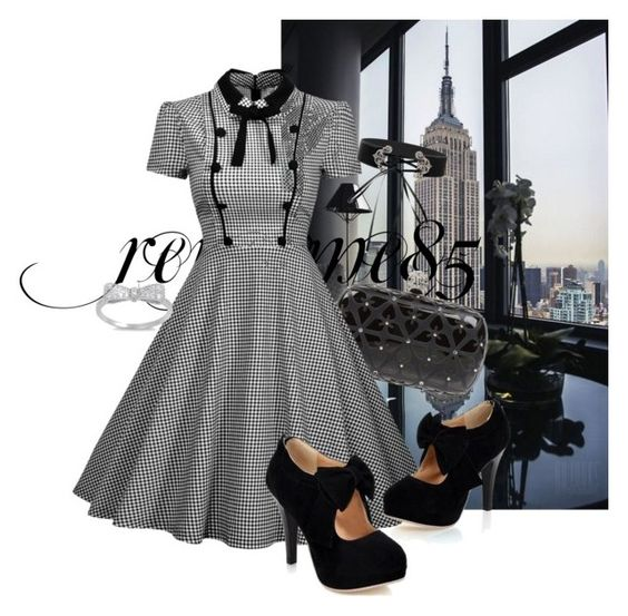 Nyc's Night by renesme85 on Polyvore featuring moda and Alexander McQueen