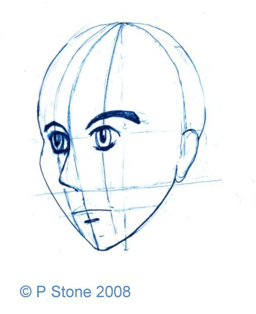 Learn How To Create Your Own Manga Character Drawing Tutorial Face Manga Characters Manga