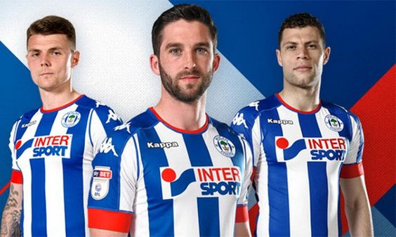 Maillot-de-foot-Wigan-Athletic-Domicile-2016-2017