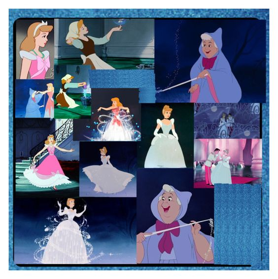 """""""Fairy godmother helps Cinderella"""" by hannahmcpherson12 ❤ liked on Polyvore featuring art"""