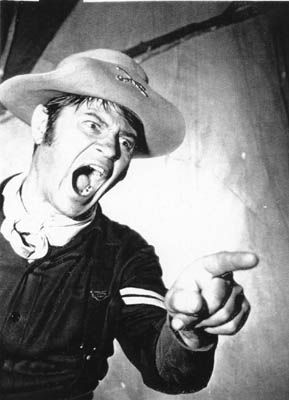 Larry Storch as Corporal Agarn in F-Troop.  Loved watching this show as a kid