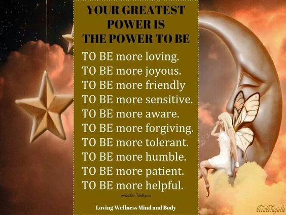 Greatest power
