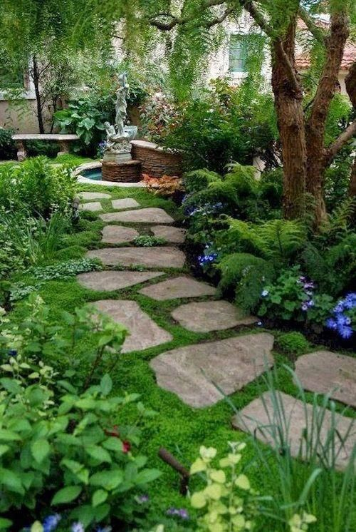 Conserv A Stone Flexstone Rubber Garden Stepping Stones With Images Beautiful Gardens Small Backyard Landscaping Backyard