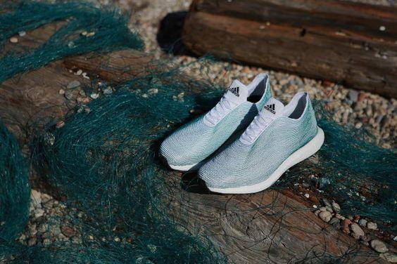 adidas Schuhe aus Plastikmüll aus dem Meer