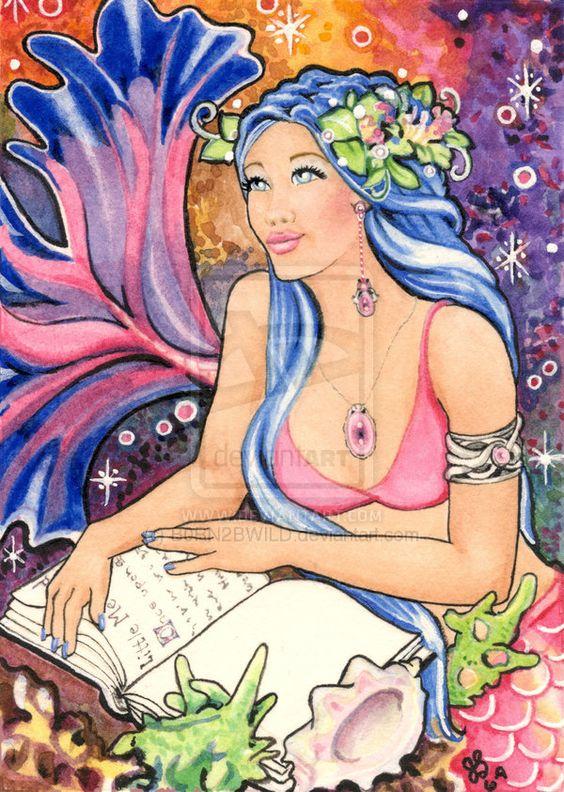 A Mermaid's Tale by B0RN2BWILD.deviantart.com on @DeviantArt