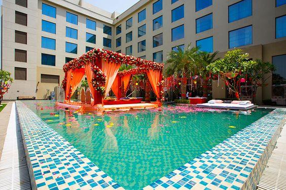 Elegant Floating Mandap Styles For Your Wedding, 9eaad59876000829a757d6ed0db33597