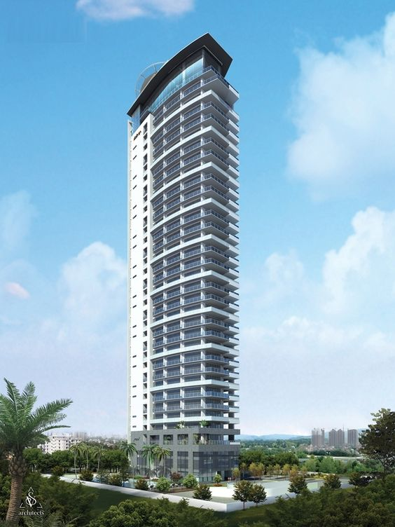 Residential Building Elevations Highrise skycrapers