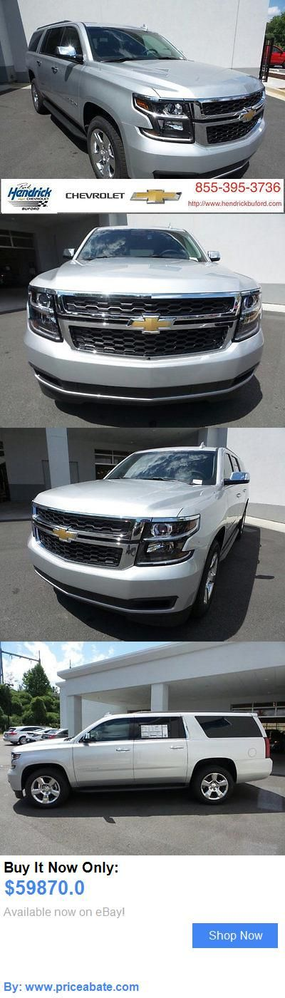 SUVs: Chevrolet: Suburban Lt Lt New 4 Dr Suv Automatic 5.3L 8 Cyl Silver Ice Metallic BUY IT NOW ONLY: $59870.0 #priceabateSUVs OR #priceabate