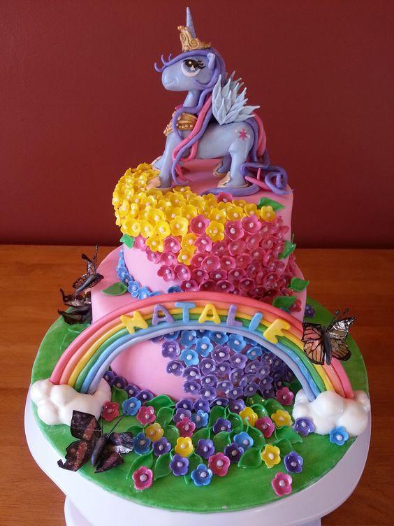 Birthday Cakes - My little pony cake  My Little Pony Cakes ...