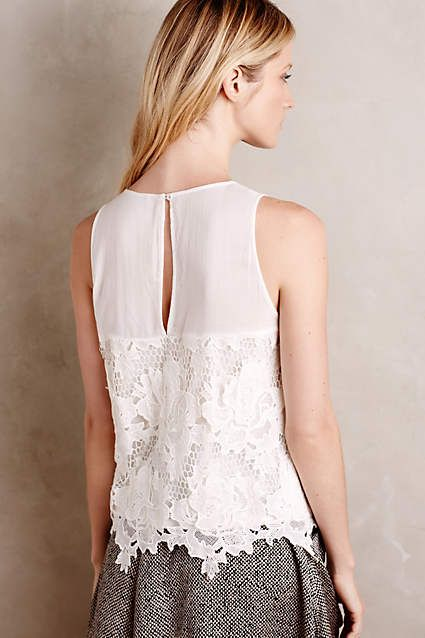 Nareh Lace Tank - anthropologie.com