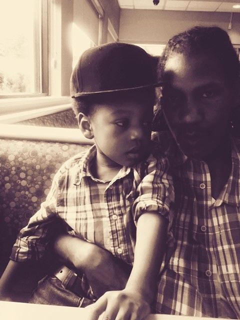 My husband & Baby boy
