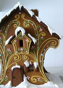 gingerbread house -ftw