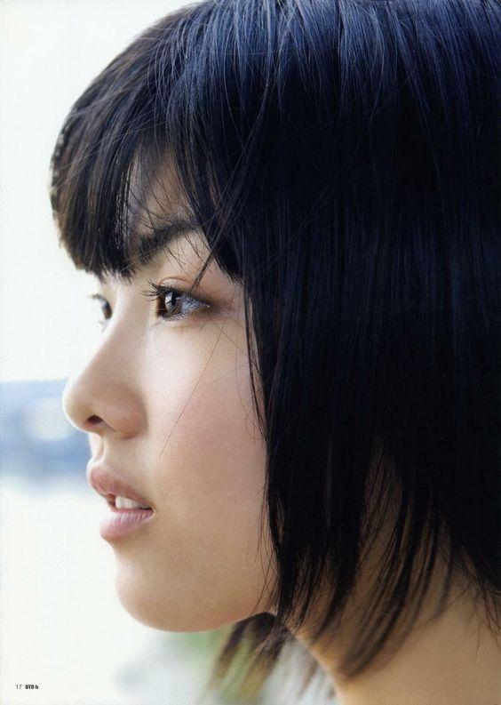 福田麻由子の横顔