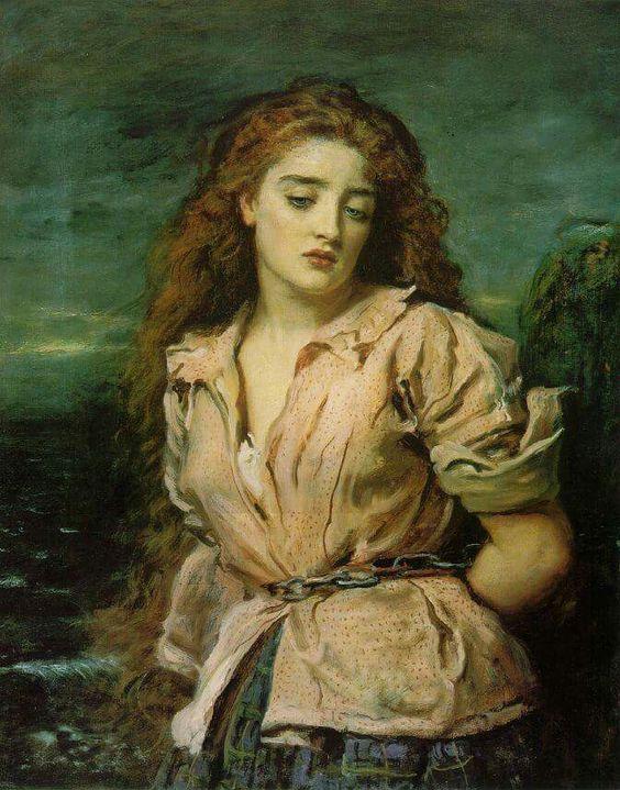 The Martyr of Solvay- Sir John Everett Millais (1829 – 1896 )