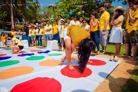 "#FirstPerson: ""We Held Our Own 'Wedding Olympics' Event Which Was Full Of Fun & Games!"""