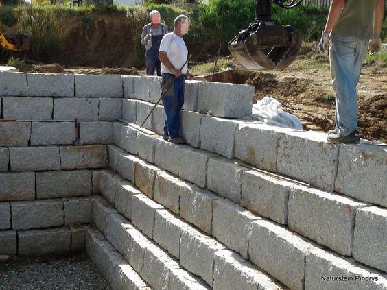 Granitmauersteine Granitsteine 40 40 80 Cm Granitmauer Granit Mauersteine Granitsteine