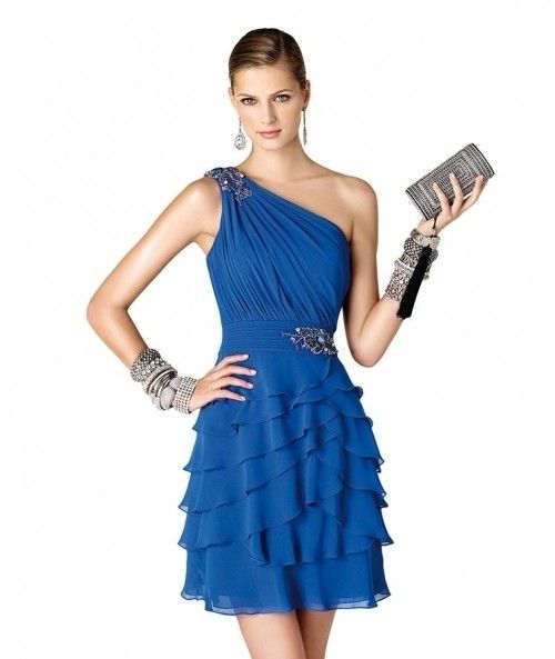 15 vestidos azules para un look de invitada - bodas.com.mx