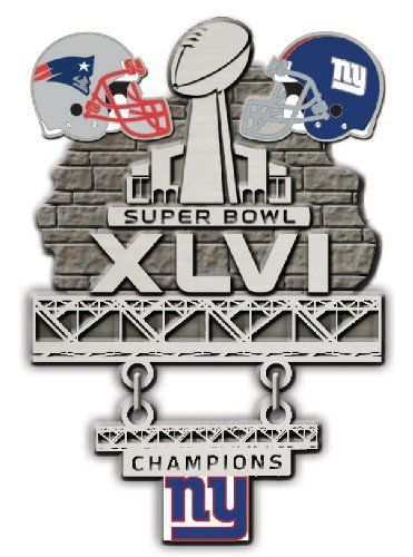 NFL New York Giants Limited Edition Super Bowl XLVI Champions ...