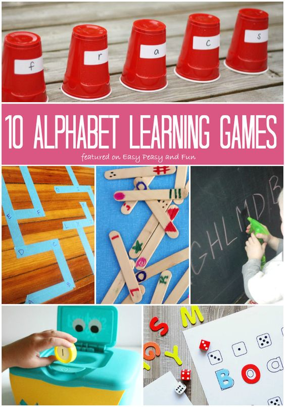 10 Alphabet Learning Games for Kids - Easy Peasy and Fun