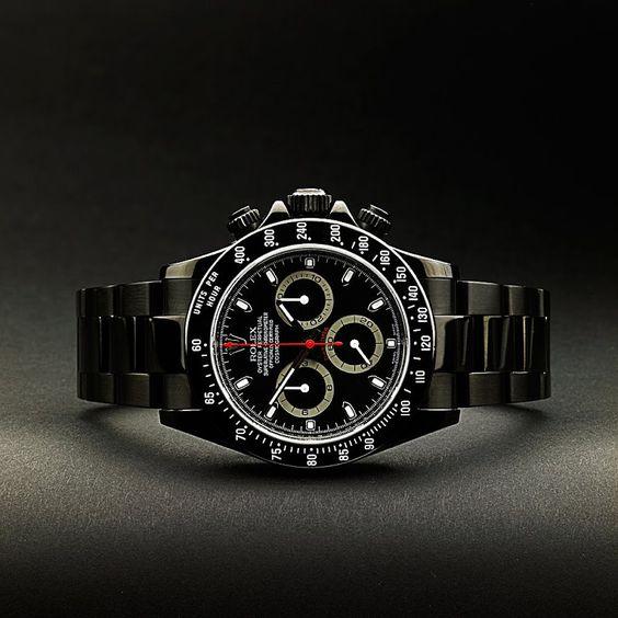 Rolex Daytona Nero
