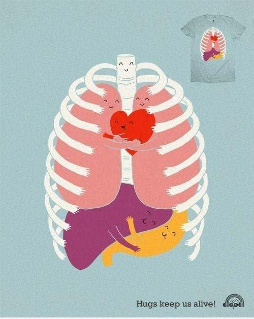 Hugs Keep Us Alive