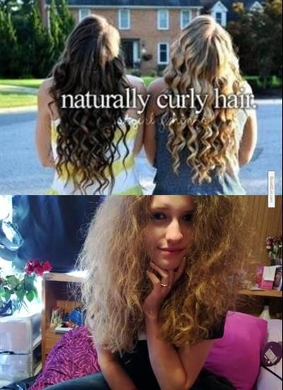 Scroll2Lol.com - So I have REAL naturally curly hair....
