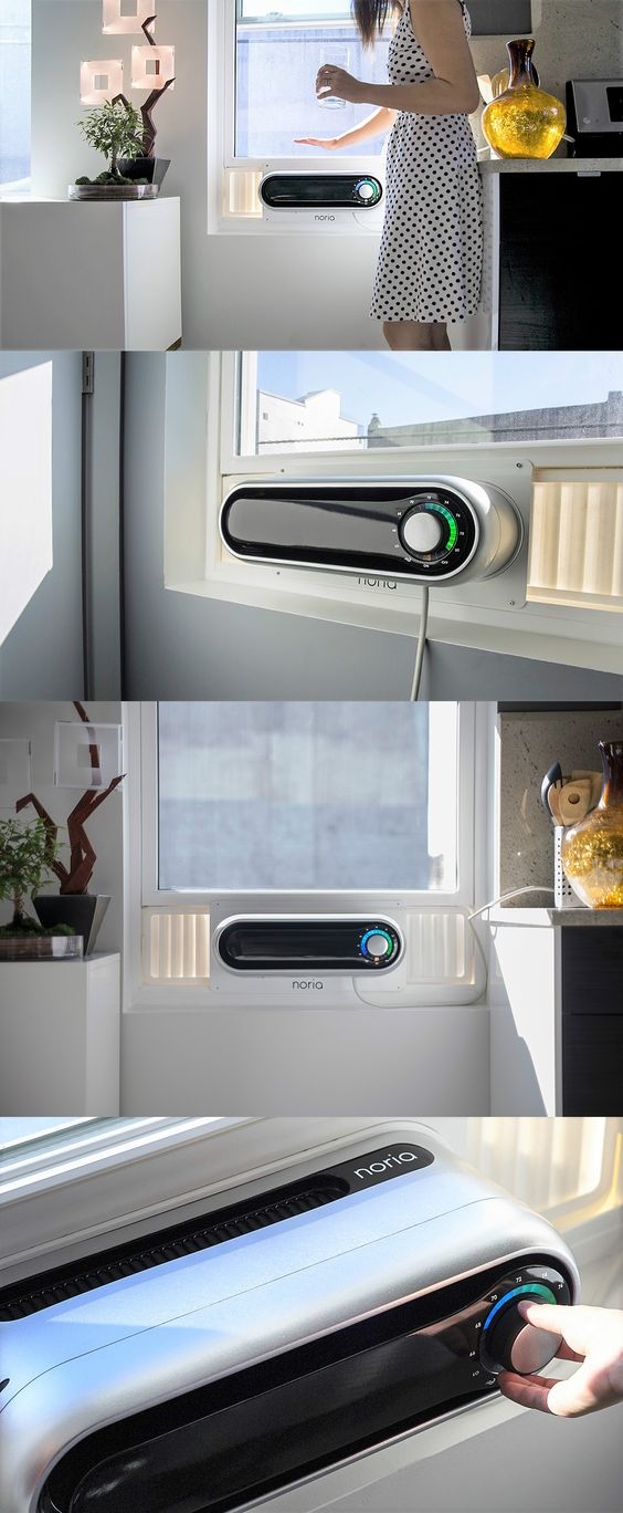 However ugly they are, window air conditioning units can be a total lifesaver for those without central built-in AC. Read more at Yanko Design