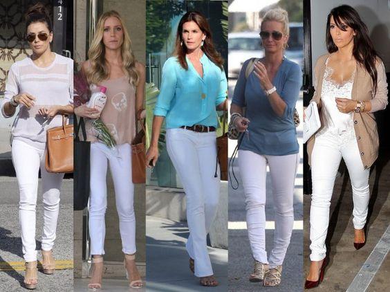 Womens White Jeans Tall - Xtellar Jeans