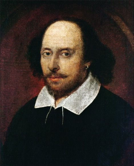 Portrait of William Shakespeare (1610) attributed to John Taylor