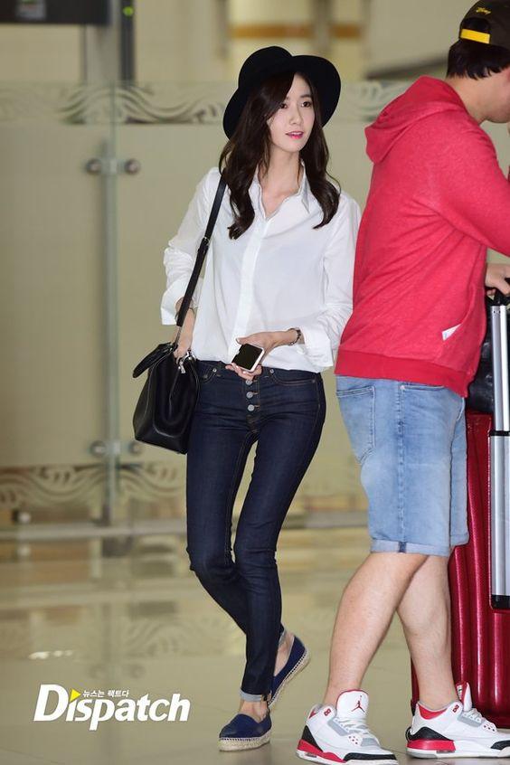 Snsd Yoona Airport Fashion 150922 2015 Snsd Airport Fashion Pinterest Yoona Airport