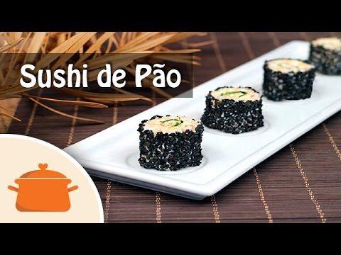 Sushi de Pão - YouTube
