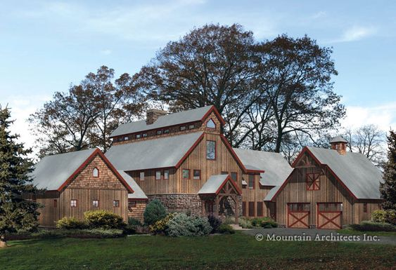 Barn House Love The Look Of Multiple Matching Buildings
