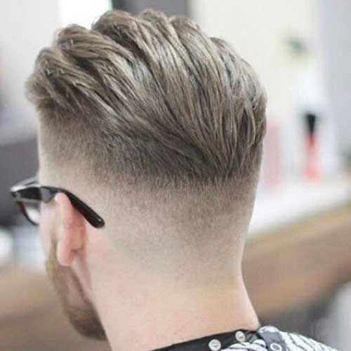 Vue Arriere De Cheveux Courts Pour Les Hommes Hair Toupee Mens Hairstyles Haircuts For Men