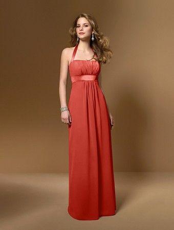 persimmon bridesmaid dress 2 - Wedding Ideas - Pinterest ...