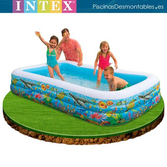 Piscina para ni os de la serie tropical intex su for Piscinas infantiles