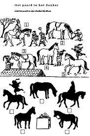 Kleurplaat Paard In De Wie Werkbladen Paarden Google Zoeken Paarden Pinterest