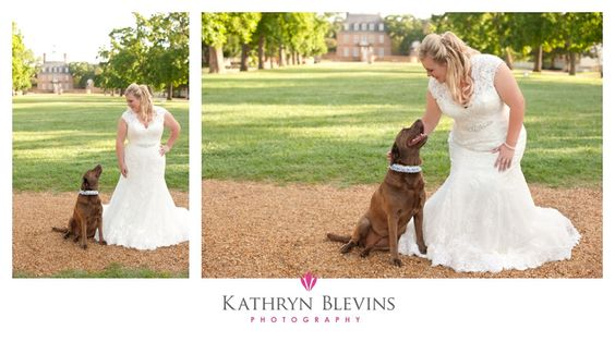Bridal Portraits: All Your Own - Colonial Williamsburg Photography - Pet portraits