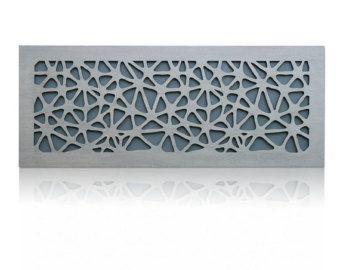 Artículos similares a Corte laser Metal decorativo pared Panel de arte escultura para hogar, oficina, uso de interior o al aire libre (Flowerburst) en Etsy