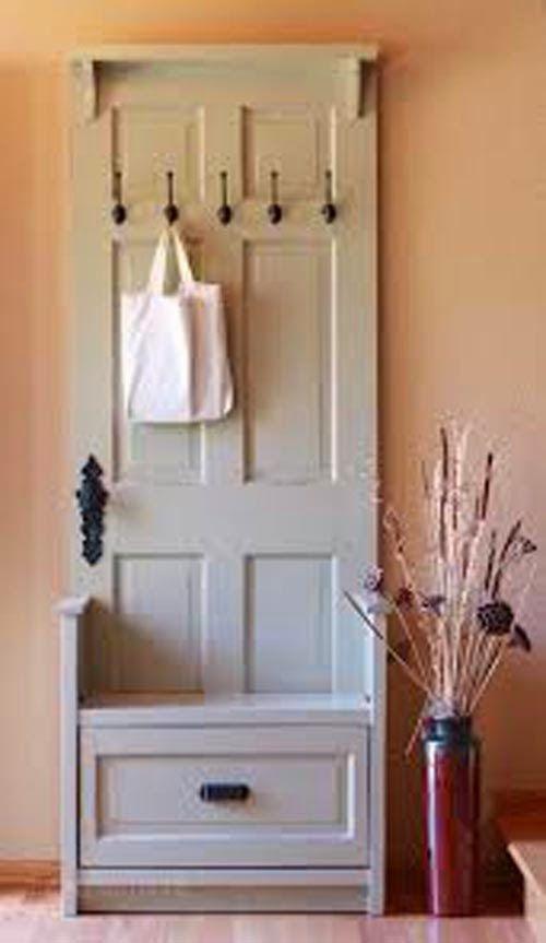 """Se virando sem grana: Reaproveitando cacarecos: """"porta e janelas antigas...:"""